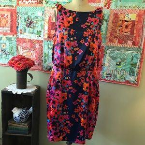 Kasper Floral Print Dress